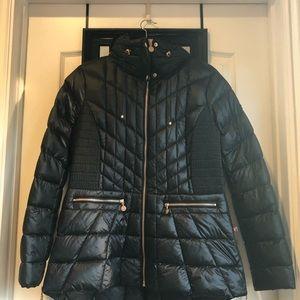 Bernardo Microtouch Pillow Down & Feather  Jacket